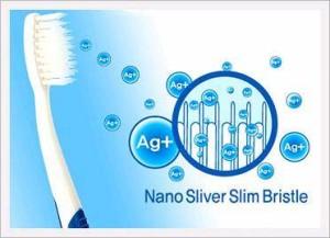 antibakteriális nano ezüst fogkefe